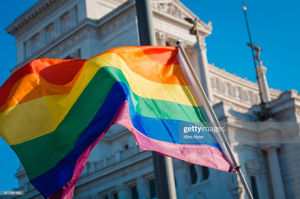 Rome Pride March : Stock Photo