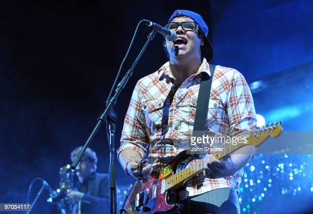 Rome Ramirez performs with Sublime during the KROQ Almost Acoustic Christmas at Gibson Amphitheatre on December 12 2009 in Universal City California