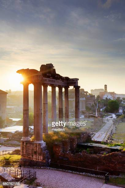 rome, roman forum - periodo medievale stock pictures, royalty-free photos & images