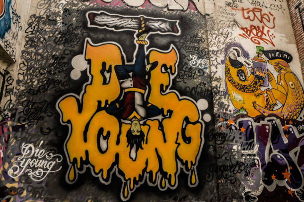 Rome - Street art @Snia - Hanged -