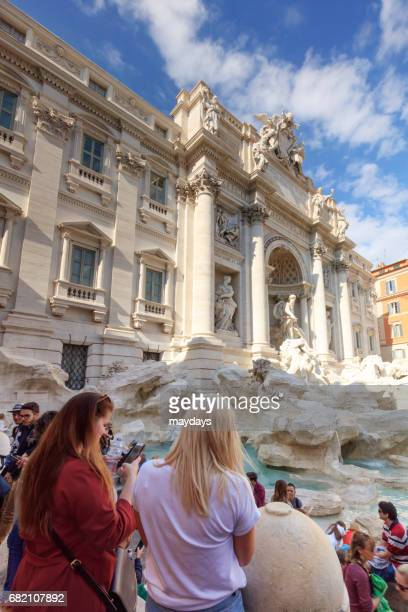 rome, trevi fountain - arte stock pictures, royalty-free photos & images
