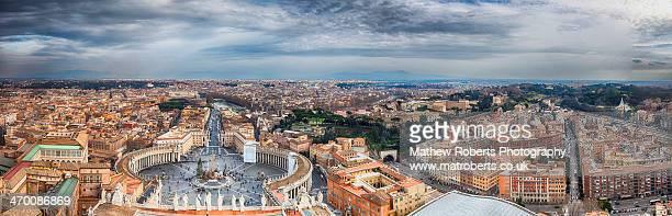 Rome Week - St Peter's Basilica panoramic
