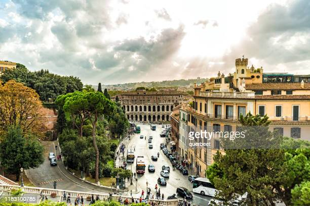 rome with sun - sonne stock pictures, royalty-free photos & images