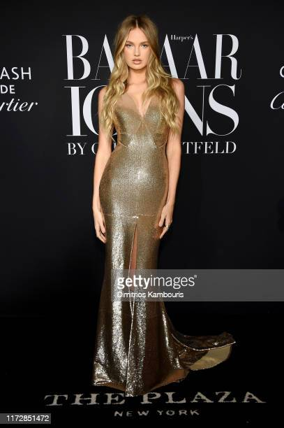 Romee Strijd at The Plaza Hotel on September 06 2019 in New York City