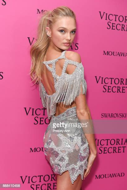 Romee Strijd attends 2017 Victoria's Secret Fashion Show In Shanghai After Party at MercedesBenz Arena on November 20 2017 in Shanghai China