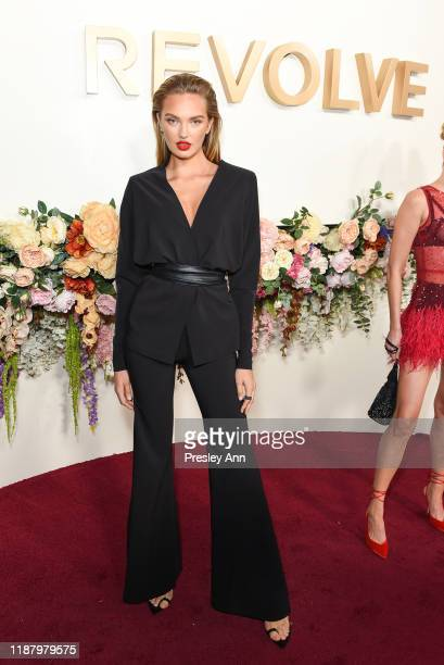 Romee Strijd attends 3rd Annual #REVOLVEawards at Goya Studios on November 15, 2019 in Hollywood, California.