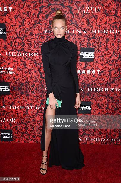 Romee Strijd attends An Evening Honoring Carolina Herrera at Alice Tully Hall at Lincoln Center on December 6 2016 in New York City