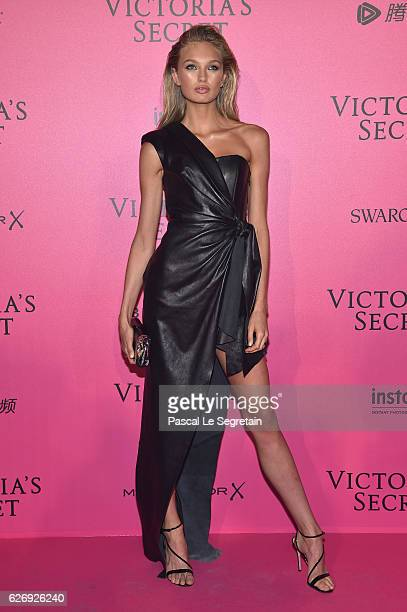 Romee Strijd attends the 2016 Victoria's Secret Fashion Show after party on November 30 2016 in Paris France