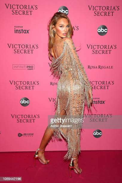Romee Strijd attends the 2018 Victoria's Secret Fashion Show After Party on November 8 2018 in New York City
