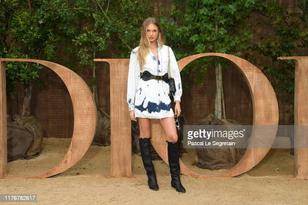 Romee Strijd attends the Christian Dior Womenswear Spring/Summer 2020 show as part of Paris Fashion Week on September 24 2019 in Paris France