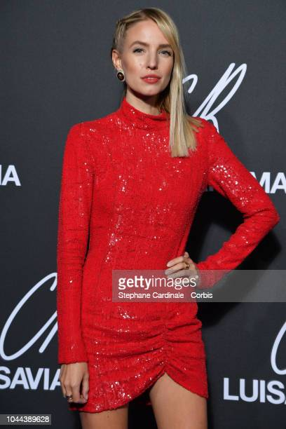 Romee Strijd attends the CR Fashion Book x LuisaViaRoma Photocall as part of the Paris Fashion Week Womenswear Spring/Summer 2019 on October 1 2018...