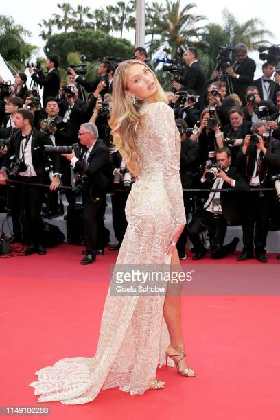 """Romee Strijd attends the opening ceremony and screening of """"The Dead Don't Die"""" during the 72nd annual Cannes Film Festival on May 14, 2019 in..."""