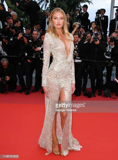 "Romee Strijd attends the opening ceremony and screening of ""The Dead Don't Die"" during the 72nd annual Cannes Film Festival on May 14, 2019 in..."