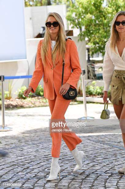 Romee Strijd is seen during the 72nd annual Cannes Film Festival at on May 14 2019 in Cannes France