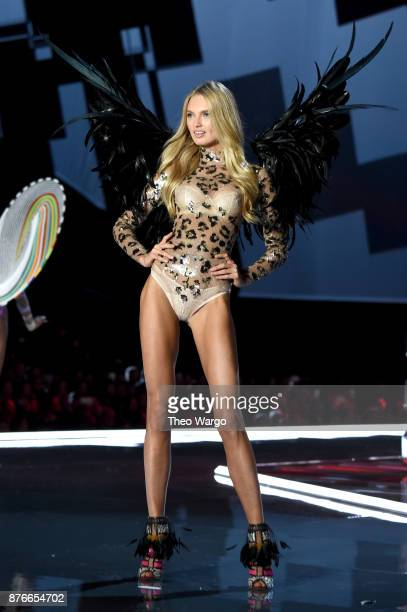Romee Strijd walks the runway during the 2017 Victoria's Secret Fashion Show In Shanghai at MercedesBenz Arena on November 20 2017 in Shanghai China