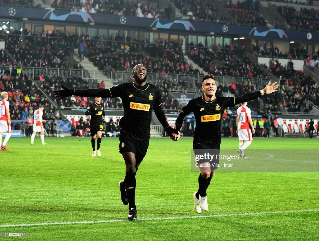 Slavia Praha v Inter: Group F - UEFA Champions League : News Photo