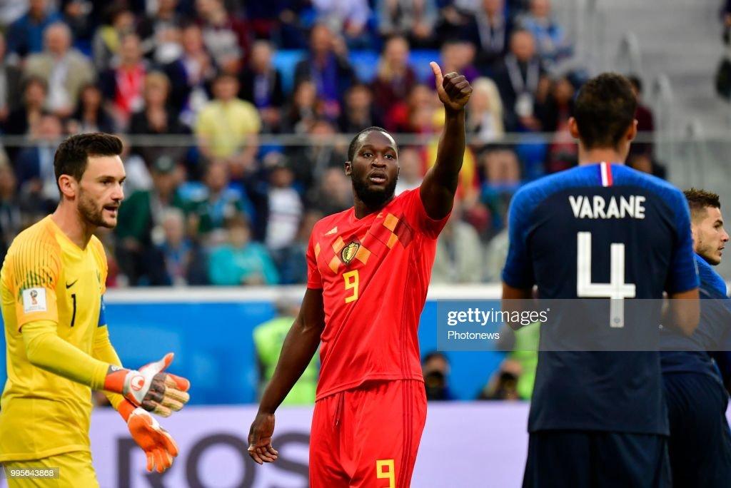 36692b09c Romelu Lukaku forward of Belgium during the FIFA 2018 World Cup ...
