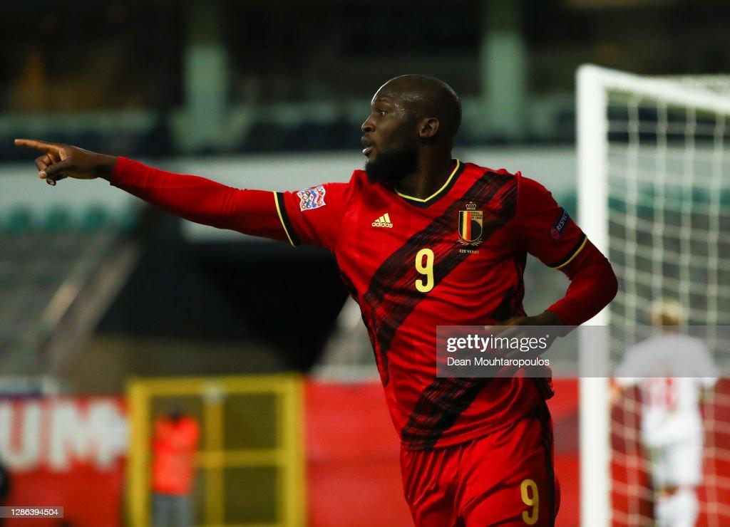 Belgium v Denmark - UEFA Nations League : Photo d'actualité