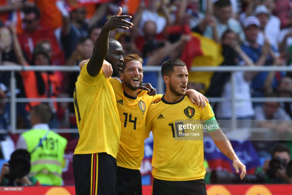 Belgium v Tunisia: Group G - 2018 FIFA World Cup Russia : News Photo