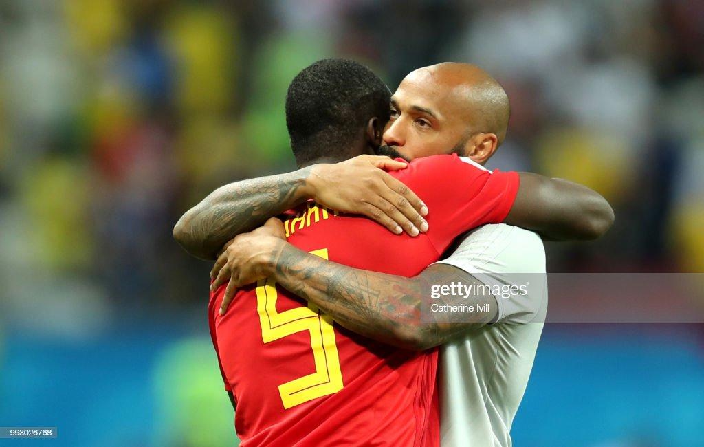 Brazil v Belgium: Quarter Final - 2018 FIFA World Cup Russia : Nachrichtenfoto