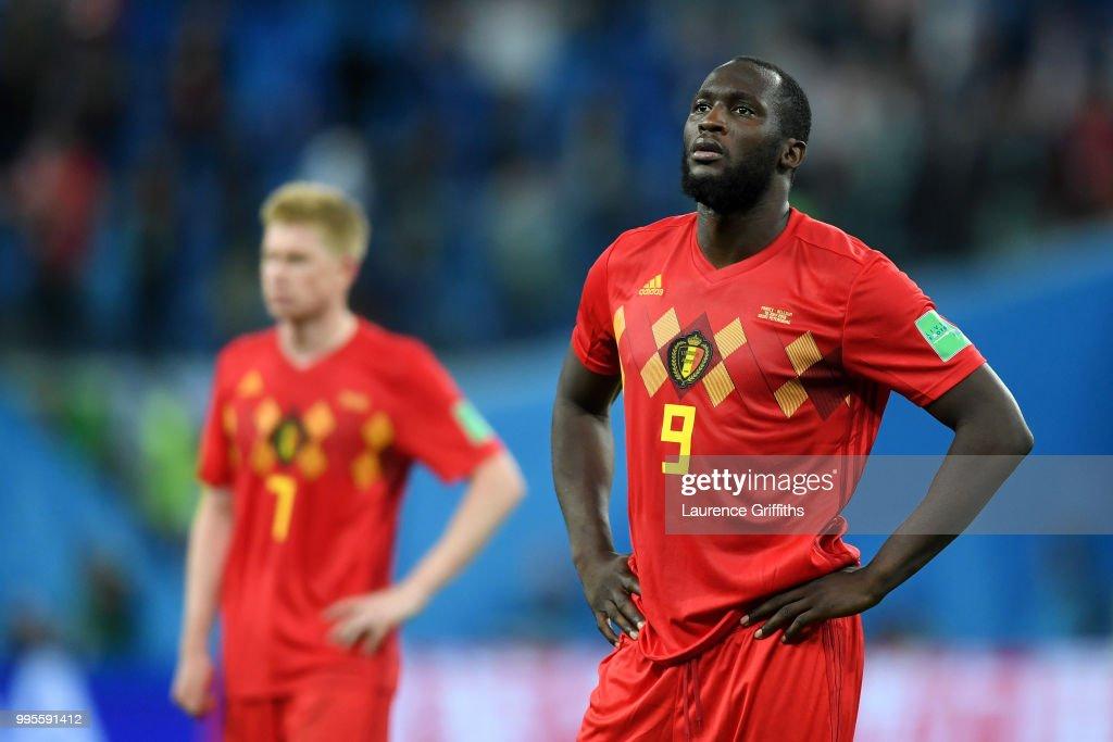 Belgium v France: Semi Final - 2018 FIFA World Cup Russia : Nachrichtenfoto
