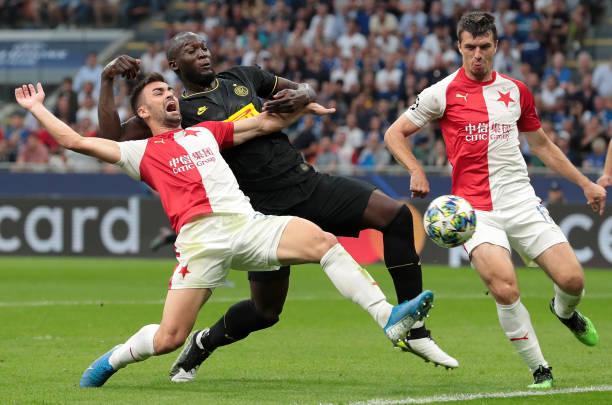 ITA: FC Internazionale v Slavia Praha: Group F - UEFA Champions League