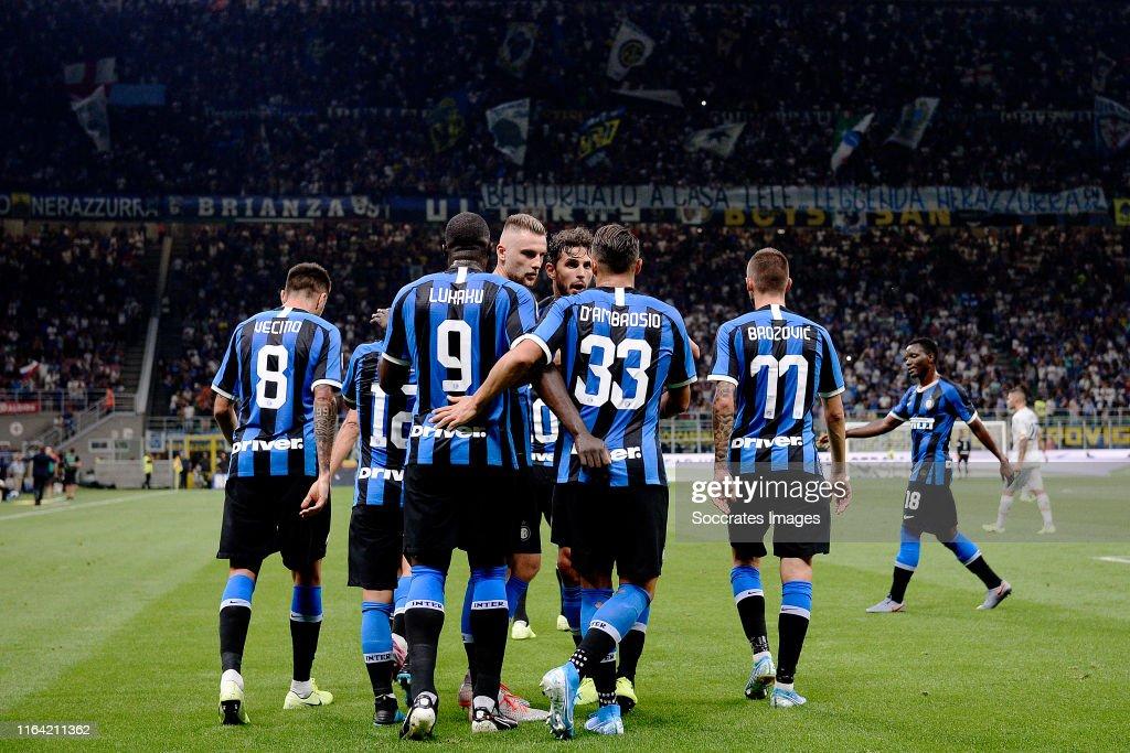 Internazionale v Lecce - Italian Serie A : News Photo