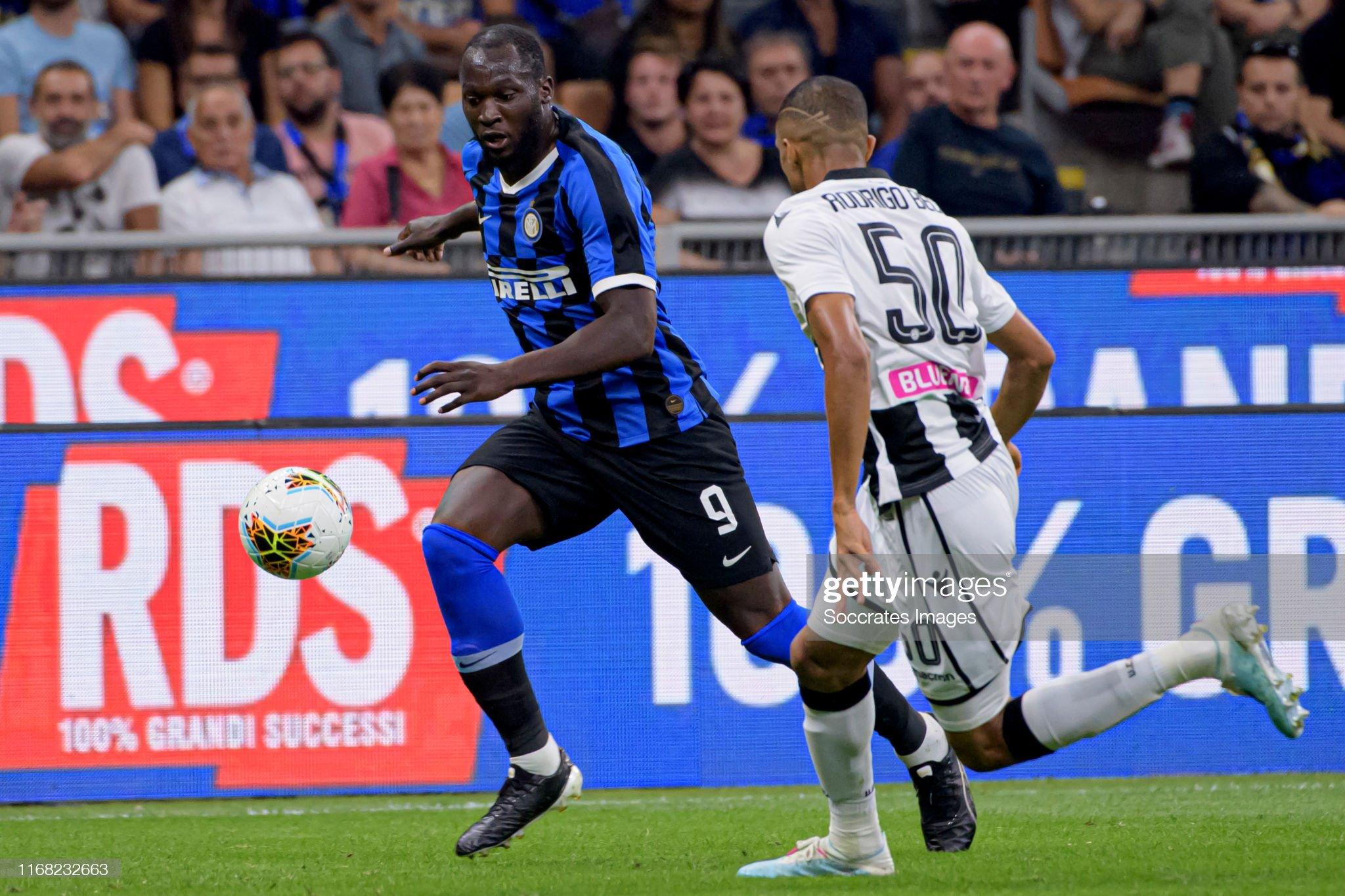 Internazionale v Udinese - Italian Serie A : News Photo
