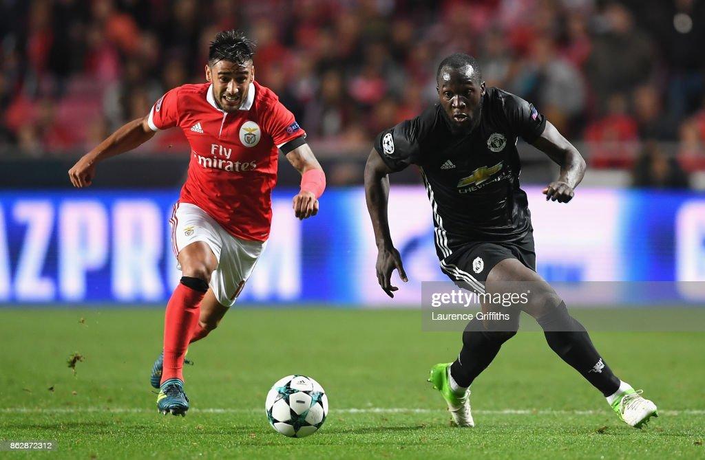 SL Benfica v Manchester United - UEFA Champions League