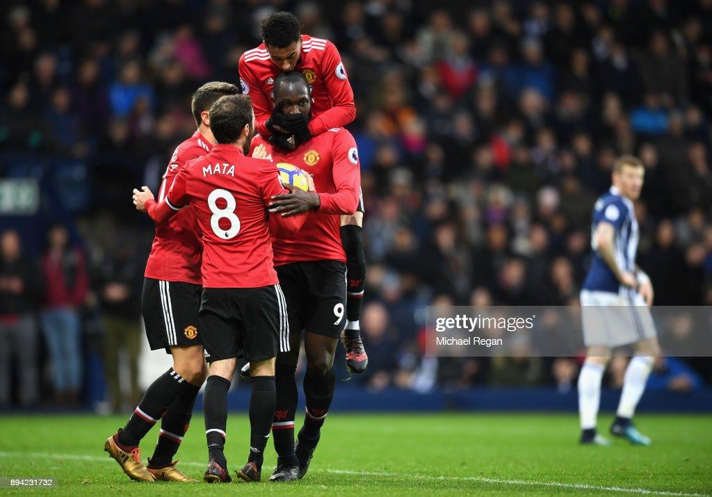 West Bromwich Albion v Manchester United - Premier League : Nieuwsfoto's