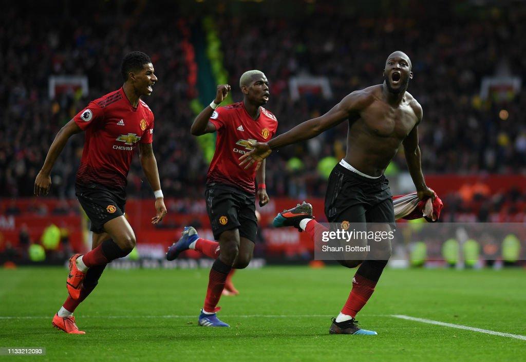 Manchester United v Southampton FC - Premier League : Nieuwsfoto's