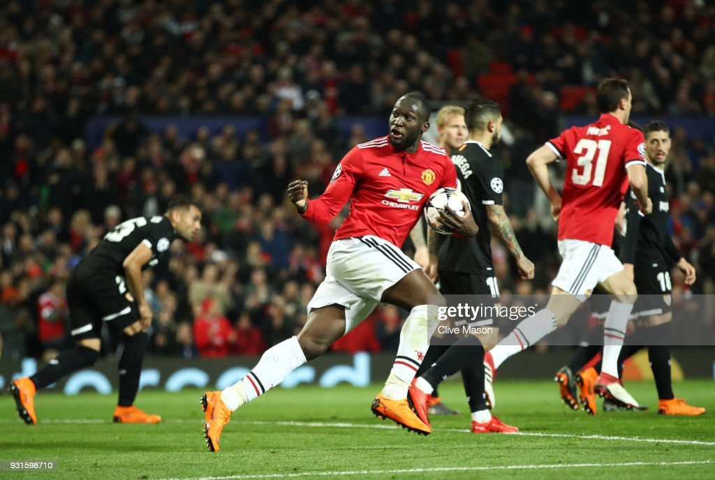 Manchester United v Sevilla FC  - UEFA Champions League Round of 16: Second Leg : News Photo