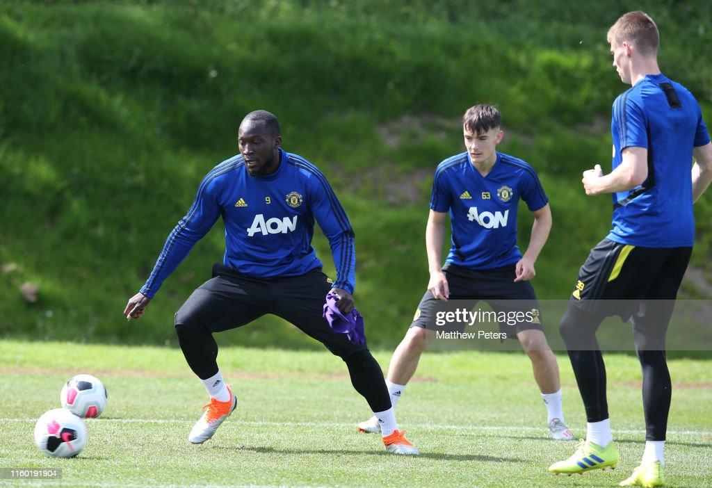 Manchester United Pre-Season Training Session : News Photo