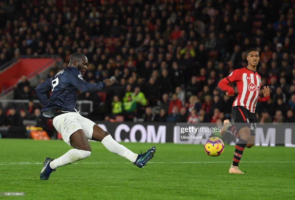 Southampton FC v Manchester United - Premier League : Nachrichtenfoto