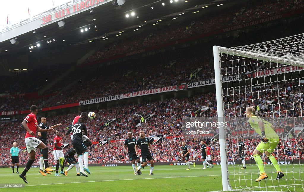 Manchester United v West Ham United - Premier League : Fotografia de notícias