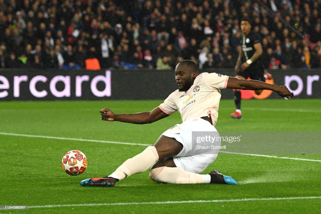 Paris Saint-Germain v Manchester United - UEFA Champions League Round of 16: Second Leg : Nachrichtenfoto