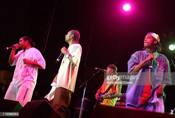 Romeo Antonio Performs With Bone Thugs N Harmony at the 2003 San Diego Street Scene