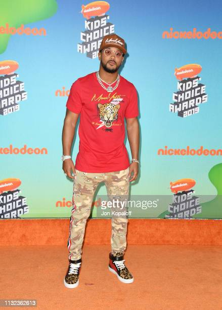 Romeo attends Nickelodeon's 2019 Kids' Choice Awards at Galen Center on March 23 2019 in Los Angeles California