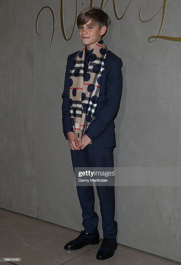 The Premiere Of The Burberry Festive Film - Arrivals