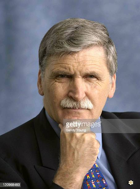 Romeo Dallaire during 2005 Edinburgh International Festival -International Book Festival at Edinburgh in Edinburgh, Great Britain.