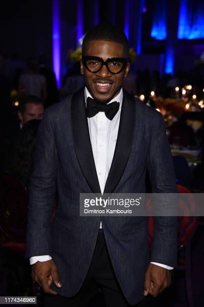 Romeo Hunte attends Rihanna's 5th Annual Diamond Ball Benefitting The Clara Lionel Foundation at Cipriani Wall Street on September 12 2019 in New...