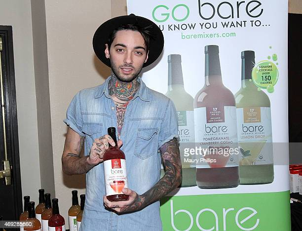 Romeo Lacoste attends GBK Gift Lounge during MTV Movie Awards Weekend at Hollywood Roosevelt Hotel on April 10 2015 in Hollywood California