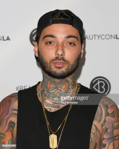 Romeo Lacoste attends the Beautycon Festival LA 2018 at Los Angeles Convention Center on July 15 2018 in Los Angeles California