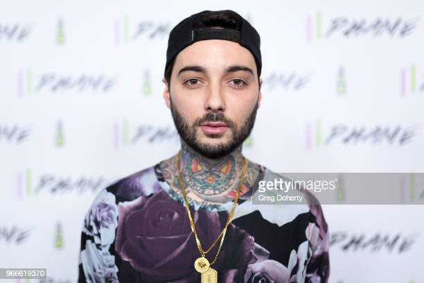 Romeo Lacoste attends the PHAME Expo 2018 on June 2 2018 in Los Angeles California