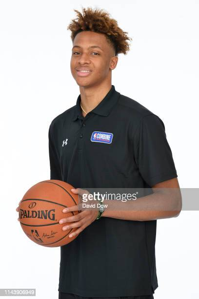 Romeo Langford poses for a portrait at the 2019 NBA Draft Combine on May 14 2019 at the Chicago Hilton in Chicago Illinois NOTE TO USER User...