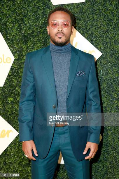 Romeo Miller arrives at the BET Her Awards Presented By Bumble at Conga Room on June 21 2018 in Los Angeles California