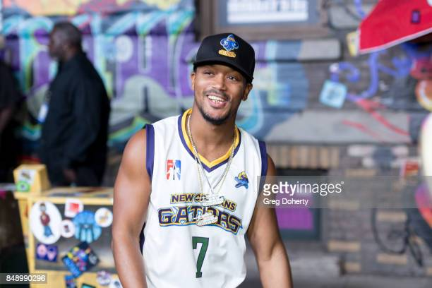 Romeo Miller arrives for VH1's Hip Hop Honors The 90's Game Changers at Paramount Studios on September 17 2017 in Hollywood California