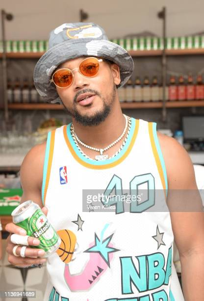 Romeo Miller attends Lucky Brand And Rolling Stone Live Present Desert Jam at ARRIVE Hotel on April 13, 2019 in Palm Springs, California.