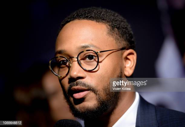 """Romeo Miller attends """"Never Heard"""" Movie Premiere at AMC CityWalk Stadium 19 at Universal Studios Hollywood on October 30, 2018 in Universal City,..."""