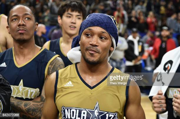 Romeo Miller attends the 2017 NBA All-Star Celebrity Game at Mercedes-Benz Superdome on February 17, 2017 in New Orleans, Louisiana.